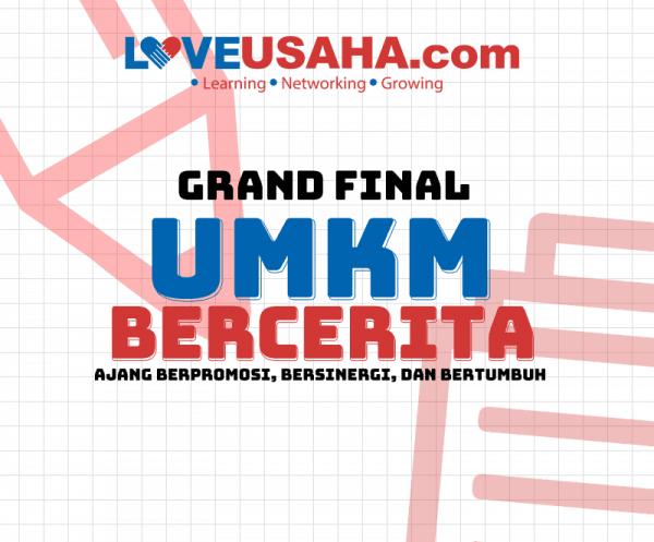 Undangan Grand Final Lomba Menulis Profil Usaha Umkm Bercerita