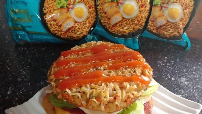burger indomie
